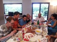 Eating Barbecue with the Missaghian family