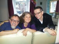 Dicky, Jess and Ramin - radiant beings!