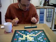 We play Scrabble for brain training