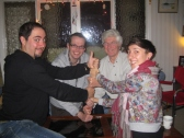 Creative Evening in Abercarn with neighbours