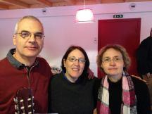 Danny, Della and Isa