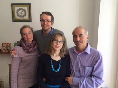 Sarah, Ramin, Edwina and Arjang