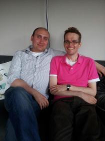 Adrian and Ramin
