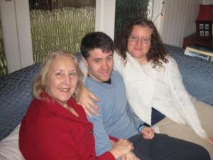 Mum Kalim and Fleur 2013